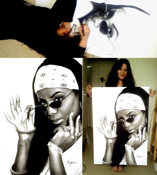 Aaliyah by rachel